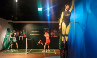 C4 Fins Featured at the Madame Tussauds Museum
